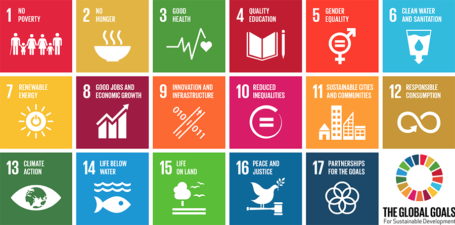 The 17 UN Sustainable Development Goals